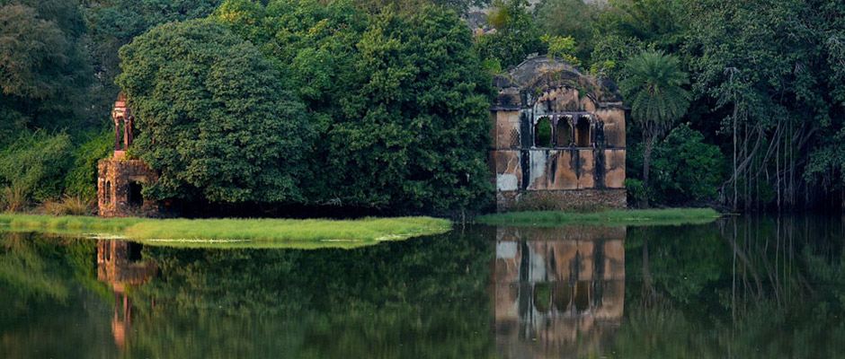 Famous Hunting palace of Ranthambore